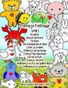 Treffen Sie Tierfreunde Book 1 Vielzweck- Buch Der Aktivitaten Fur Kinder Eine Verbindung Mit Der Natur Lernen, Zu Zeichnen Erfahren Sie Auf Gliederun