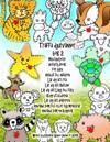 Träffa Djurvänner BOK 2 Multipurpose Activity Book För Barn Anslut Till Naturen Lär Dig Att Rita Lär Dig Att Outline Lär Dig Att Lägg Till Färg Klipp
