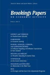 Brookings Papers on Economic Activity Fall 2015