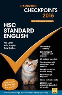 Cambridge Checkpoints Hsc Standard English 2016