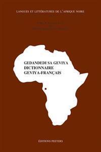 Gedandedi Sa Geviya. Dictionnaire Geviya-Francais