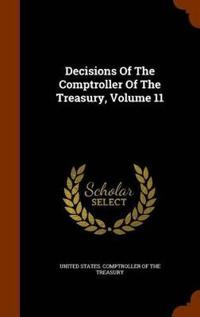 Decisions of the Comptroller of the Treasury, Volume 11