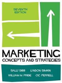 Marketing - concepts and strategies