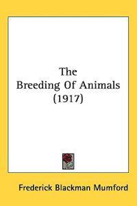 The Breeding of Animals