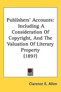 Publishers' Accounts