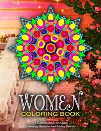 Women Coloring Book - Vol.10: Women Coloring Books for Adults