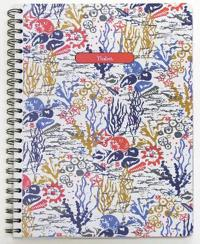 Seasalt: Life by the Sea Large Spiral-Bound Notebook