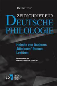 """Heimito von Doderers """"Dämonen""""-Roman: Lektüren"""