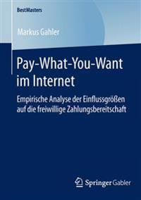 Pay-what-you-want Im Internet