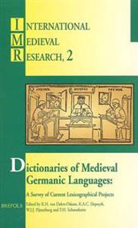 Dictionaries of Medieval German Languages