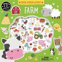 Super Sticker Activity: Farm