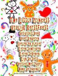 The Little Princess Vrolijk Kerstfeest Activiteit Boek Voor Kinderen Spelen En Plezier Leren Schrijven Leren Tekenen Lijn de Dots Versier Met Pages Ha