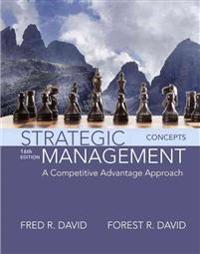 Strategic Management: A Competitive Advantage Approach, Concepts Plus Mylab Management with Pearson Etext -- Access Card Package