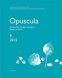 Opuscula 8 | 2015