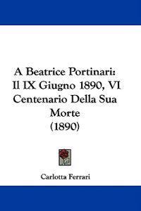 A Beatrice Portinari