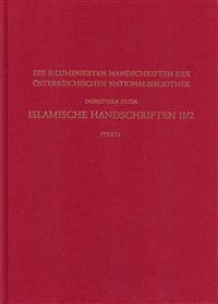 Islamische Handschriften II: Teil 2: Die Handschriften in Turkischer Sprache - Text Und Tafelband