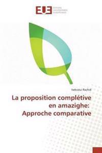 La Proposition Completive En Amazighe