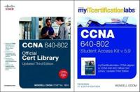 CCNA MyITCertificationLab 640-802 Official Cert Library Bundle V5.9
