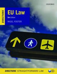 Eu Law Directions, 5th Ed.