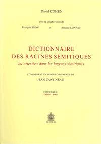 Dictionnaire Des Racines Semitiques Ou Attestees Dans Les Langues Semitiques, Fasc. 4