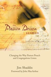 Passion-Driven Sermon