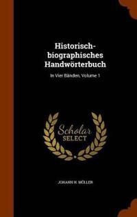 Historisch-Biographisches Handworterbuch