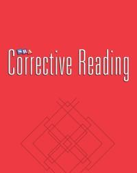Corrective Reading Comprehension Level B1, Teacher Materials
