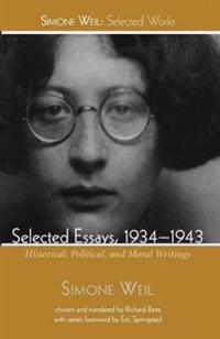 Selected Essays 1934-1943