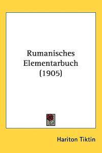 Rumanisches Elementarbuch