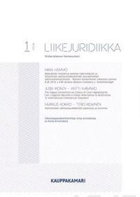 Liikejuridiikka 1/2016
