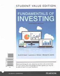 Fundamentals of Investing, Student Value Edition