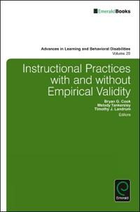 Instructional Practices With and Without Empirical Validity