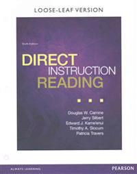 Direct Instruction Reading, Enhanced Pearson Etext with Loose Leaf Version -- Access Card Package [With Access Code]