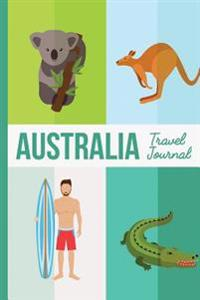 Australia Travel Journal: Wanderlust Journals