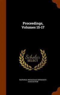 Proceedings, Volumes 15-17