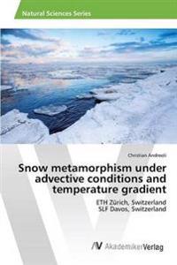 Snow Metamorphism Under Advective Conditions and Temperature Gradient