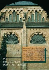 Die Inschriften Der Stadt Bonn
