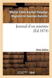 Journal D'Un Ministre 2e Edition