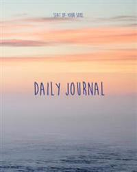Daily Journal: Seat of Your Soul Daily Journal - 365 Days + 1 Bonus Day for Leap Years Extra Large Pages to Write Your Goals, Dreams