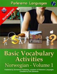 Parleremo Languages Basic Vocabulary Activities Norwegian - Volume 1 - Erik Zidowecki pdf epub