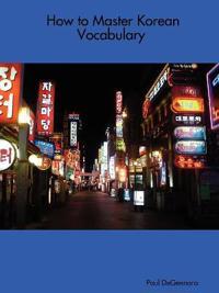 How to Master Korean Vocabulary