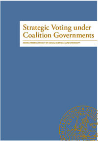 Strategic Voting under Coalition Governments
