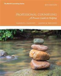 Professional Counseling: A Process Guide to Helping with Mylab Counseling with Pearson Etext -- Access Card Package