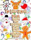 The Little Princess God Jul Activity Book for Barn Leke Og Ha Det Goy Laer a Skrive Laer a Tegne Linje Dots Dekorer Med Pages Heng Sidene