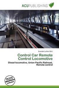 Control Car Remote Control Locomotive