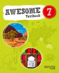 Awesome English 7 Textbook inkl. ljudfiler och elevwebb