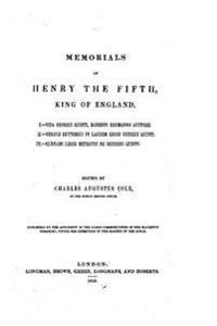 Memorial of Henry the Fifth, King of England