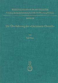 Die Uberlieferung Der Christherre-Chronik