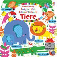 Babys erstes Bildwörterbuch  Tiere - Fiona Watt - böcker (9781782323761)     Bokhandel