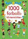1000 fotbollsklistermärken